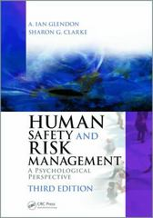 Human Safety and Risk Management 3rd Edition 9781482220544 1482220547