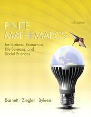 Finite Mathematics for Business, Economics, Life Sciences, and Social Sciences 13th edition 9780321945525 0321945522