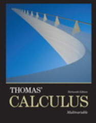 Thomas' Calculus 13th Edition 9780321884053 0321884051