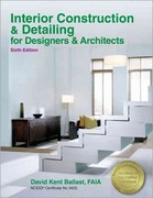 Interior Construction & Detailing for Designers & Architects 6th Edition 9781591264354 1591264359