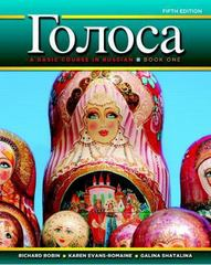 Golosa: A Basic Course in Russian, Book One Plus MyRussianLab with eText -- Access Card Package 5th Edition 9780205980369 0205980368