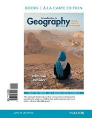 Introduction to Geography 6th Edition 9780321934994 0321934997