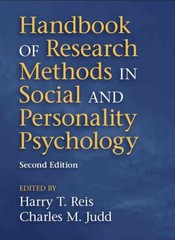 Handbook of Research Methods in Social and Personality Psychology 2nd Edition 9781107600751 1107600758