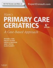Ham's Primary Care Geriatrics 6th Edition 9780323089364 0323089364