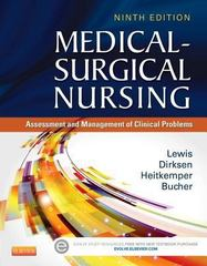 Medical-Surgical Nursing 9th Edition 9780323086783 0323086780