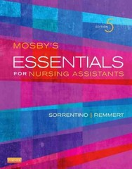 Mosby's Essentials for Nursing Assistants 5th Edition 9780323113175 0323113176