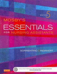 Mosby's Essentials for Nursing Assistants - Text and Workbook Package 5th Edition 9780323113205 0323113206
