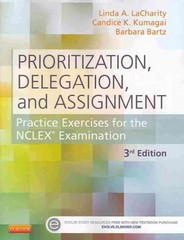 Prioritization, Delegation, and Assignment 3rd Edition 9780323113434 0323113435