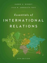 Essentials of International Relations 6th Edition 9780393921953 0393921956