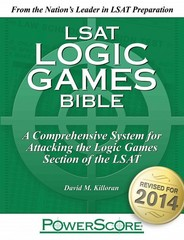 The PowerScore LSAT Logic Games Bible 4th Edition 9780988758667 0988758660