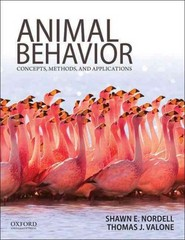 Animal Behavior 1st Edition 9780199737598 0199737592