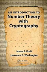 An Introduction to Number Theory with Cryptography 1st Edition 9781482214420 1482214423