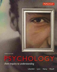 Psychology 3rd edition 9780205961184 0205961185