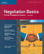 Negotiation Basics 4th edition 9780619259075 0619259078