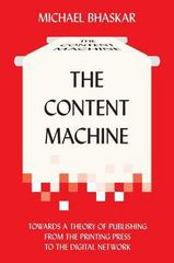 The Content Machine 1st Edition 9780857281111 0857281119