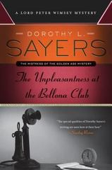 The Unpleasantness at the Bellona Club 1st Edition 9780062311917 0062311913