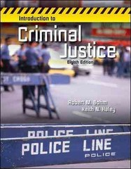 Introduction to Criminal Justice 8th Edition 9780078026539 0078026539