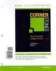 Cornerstones for Community College Success, Student Value Edition 2nd Edition 9780321932419 0321932412