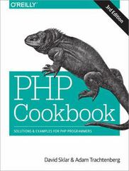 PHP Cookbook 3rd Edition 9781449363758 144936375X