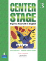 Center Stage 3 Student Book with Self-Study CD-ROM 1st edition 9780136025504 0136025501