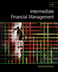 Intermediate Financial Management 12th Edition 9781285850030 1285850033