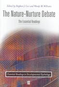 The Nature-Nurture Debate 1st edition 9780631217398 0631217398