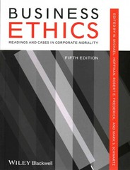 Business Ethics 5th Edition 9781118336687 1118336682