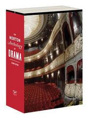 The Norton Anthology of Drama 2nd Edition 9780393923414 039392341X