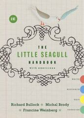 The Little Seagull Handbook with Exercises 2nd Edition 9780393935813 0393935817