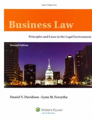 Business Law 2nd Edition 9781454838777 1454838779