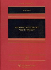 Negotiation 3rd Edition 9781454839262 1454839260