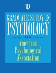 Graduate Study in Psychology 1st Edition 9781433815485 1433815486