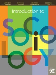 Introduction to Sociology 9th Edition 9780393922233 0393922235