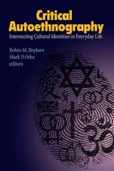 Critical Autoethnography 1st Edition 9781611323146 1611323142