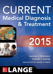 CURRENT Medical Diagnosis and Treatment 2015 54th Edition 9780071824866 0071824863