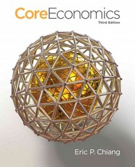 CoreEconomics 3rd Edition 9781429278461 1429278463