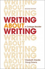 Writing about Writing 2nd Edition 9781457636943 1457636948