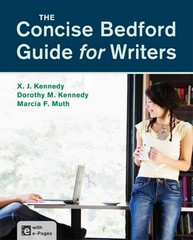 The Concise Bedford Guide for Writers 1st Edition 9781457658525 1457658526
