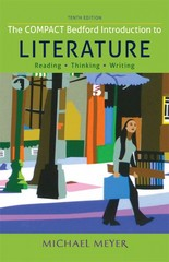 The Compact Bedford Introduction to Literature 10th Edition 9781457650505 1457650509
