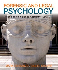 Forensic and Legal Psychology 2nd Edition 9781464142482 1464142483