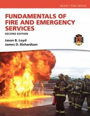 Fundamentals of Fire and Emergency Services 2nd Edition 9780133419238 0133419231