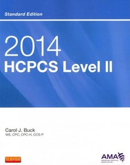 2014 HCPCS Level II Standard Edition 1st Edition 9781455775057 1455775053