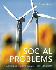 Social Problems 13th Edition 9780205881888 0205881882