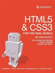 HTML5 and CSS3 for the Real World 2nd Edition 9780987467485 0987467484