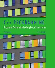 C++ Programming 7th Edition 9781305177116 1305177118