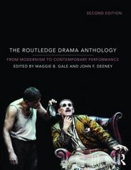 The Routledge Drama Anthology 2nd Edition 9780415724173 0415724171