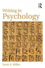 Writing in Psychology 1st Edition 9780415854528 0415854520