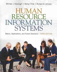 Human Resource Information Systems 3rd Edition 9781483306933 1483306933