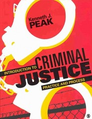 Introduction to Criminal Justice 1st Edition 9781483307350 1483307352