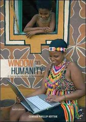 Window on Humanity 6th Edition 9780078035081 0078035082